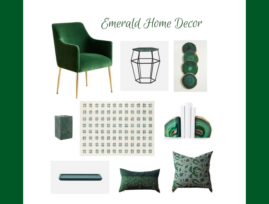 JUST A LITTLE BIT Emerald Green Shades Are Perfect To Be Used In Small Doses And Accents Like Painting Only One Wall Of The Room Sofa Or Chair